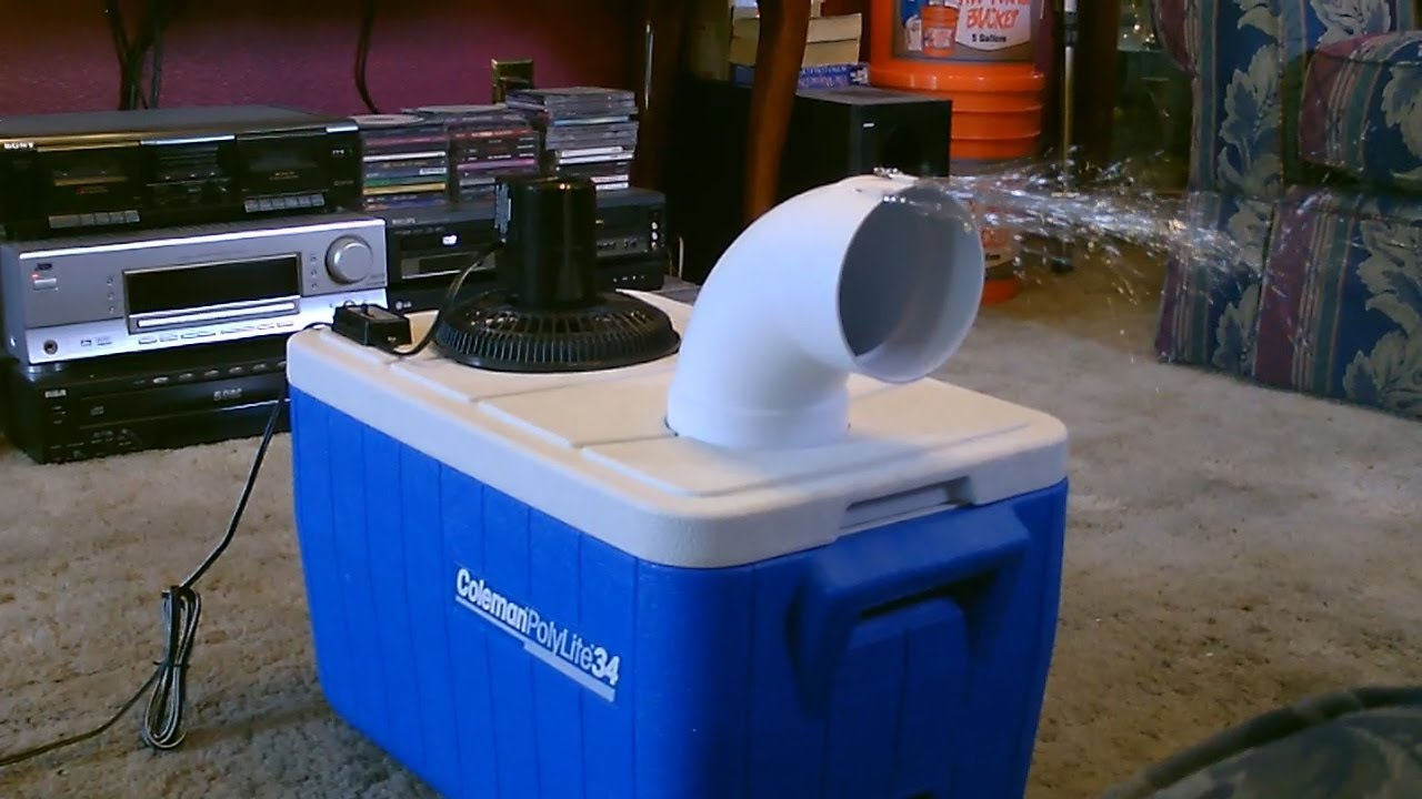 Simple DIY: Make A $399 Air Conditioner For About $19