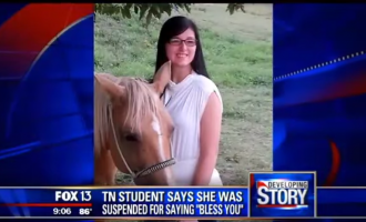 "Student Suspended For Saying ""Bless You"" In Class"