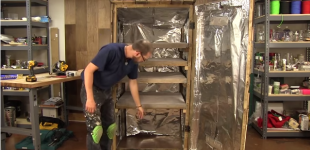 Build Your Own Smokehouse for $100