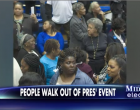 Former Supporters Walk Out On President En Masse Within Deep Heart Of 'Obama Country'