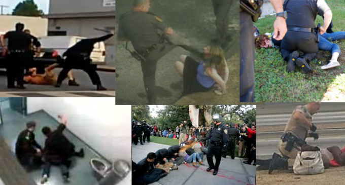 """a report on police brutality in america The police department's own data, the report found, """"gives validity to the widely held belief the police have no regard for the sanctity of life when it comes to people of color"""" 7."""