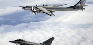 Commercial Jets Divert Course To Avoid Collision With 'Cloaked' Russian Bombers