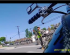 Armed California National Guard Patrols Residential Streets