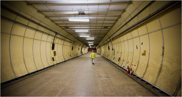 walmart tunnels