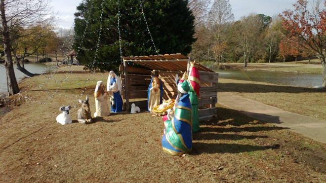 Shaw AFB Nativity Scene