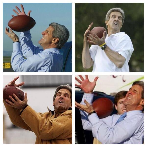 John Kerry Fumbles