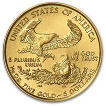 Second prize: Gold American Eagle coin