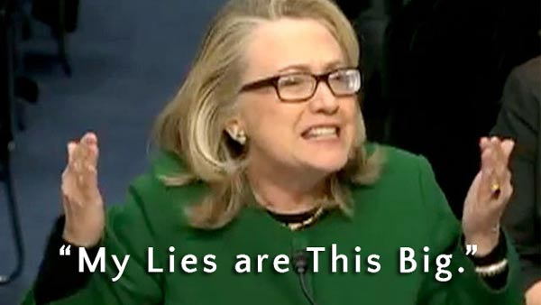 Hillary Clinton Lies