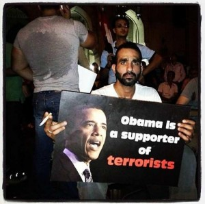 Obama is a Supporter of terrorists