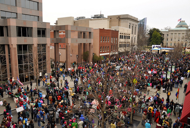 Raleigh, NC Moral March 2014