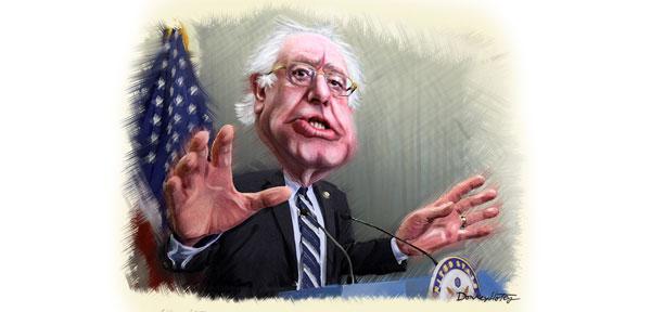 Sen.-Bernie-Sanders---DonkeyHotey