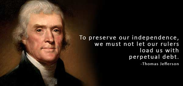 Thomas Jefferson - Perpetual Debt