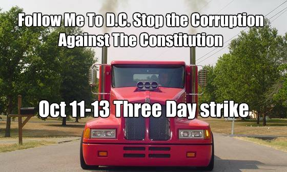Truckers to Shut Down America FB