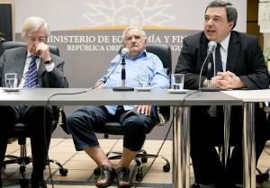 Jose Mujica, Danilo Astori, Mario Bergara