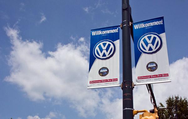 Volkswagen flags