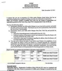 gun confiscation letter