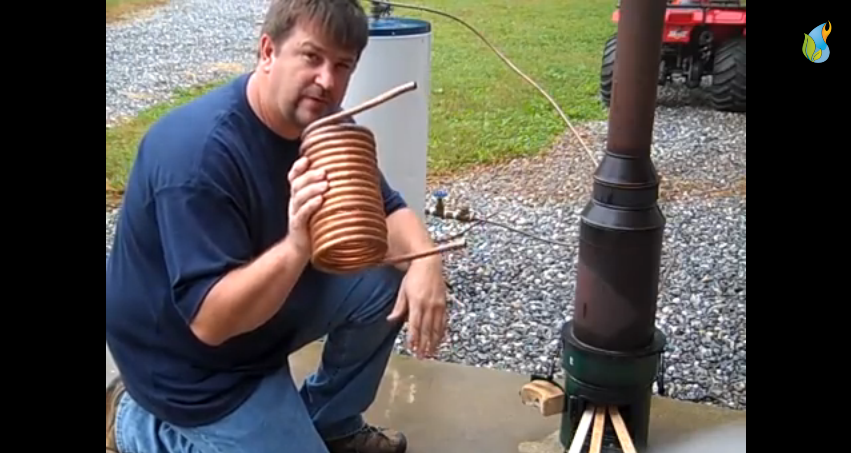 Generate Endless Hot Water Without Electricity Or Solar