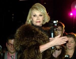 Joan Rivers at Musto's 25th Anniversary