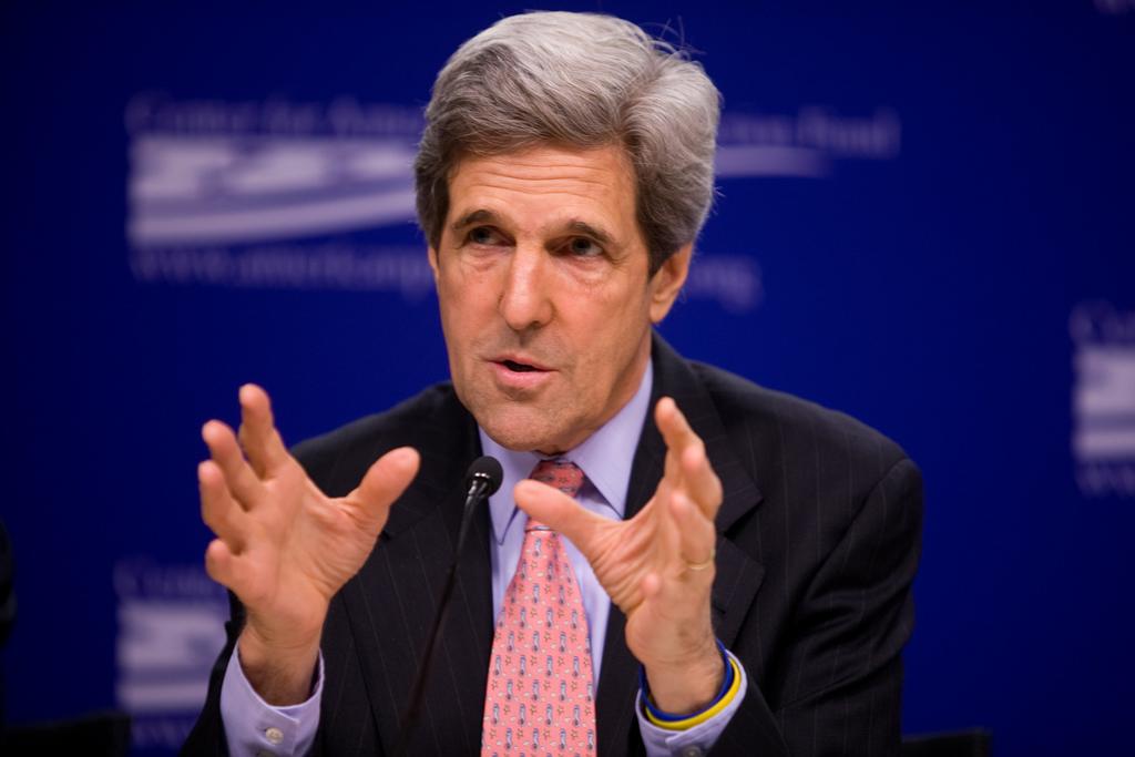 U.S. Secretary of State, John Kerry
